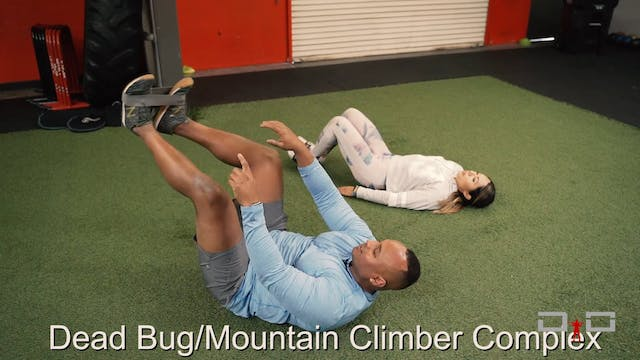 Individual Workout 58 - Dead bug/moun...