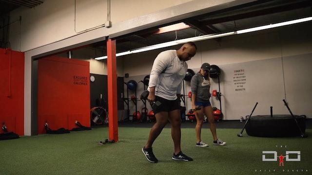 Individual Workout 35 - Alternating Tricep Kickbacks