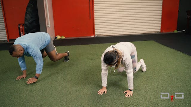 Individual Workout 42 - Bear crawl bo...