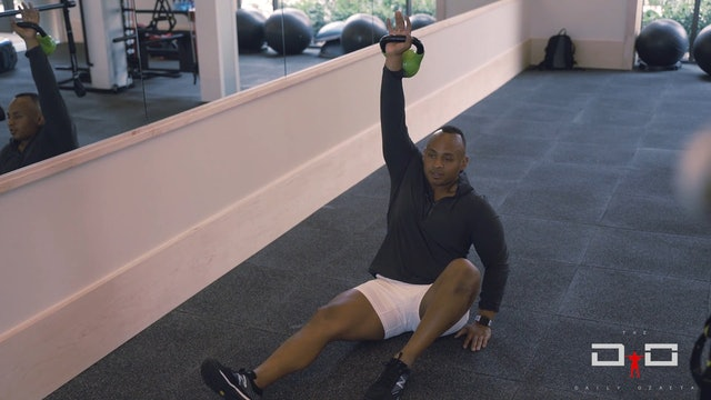 Individual Workout 96 - Dumbbell Kettlebell  - 1st Stage Getup