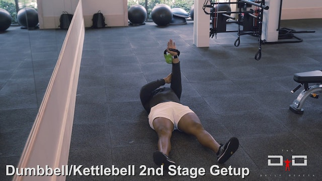 Individual Workout 97 -Dumbbell Kettlebell  - 2nd Stage Getup