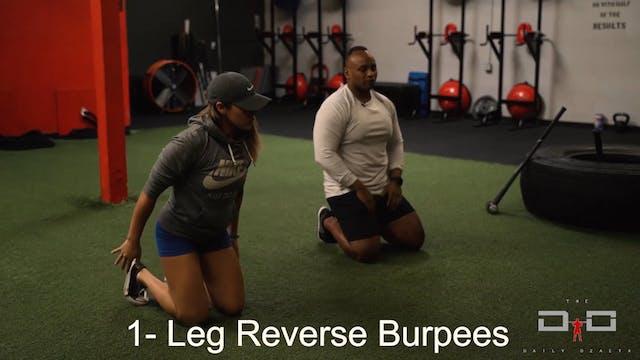 Individual Workout 3 - Leg Reverse Bu...