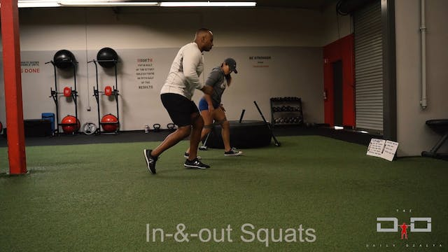 Individual Workout 10 - In N Outs