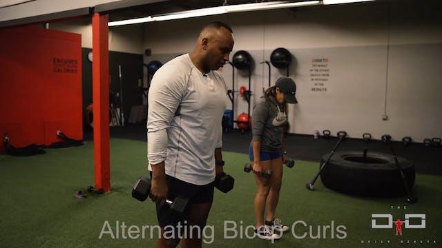 Individual Workout 38 - Alternating B...