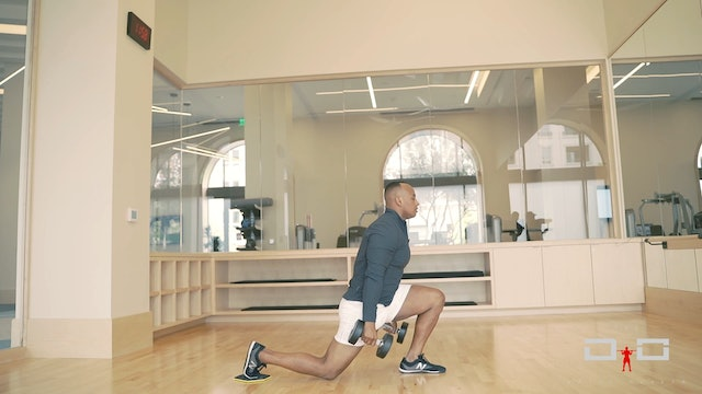 Individual Workout 88 - Sliding Reverse Lunge Clean To Press