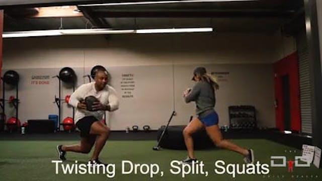Individual Workout 25 - Twisting Drop...
