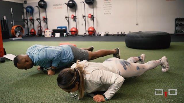 Individual Workout 60 - Push-up row/b...