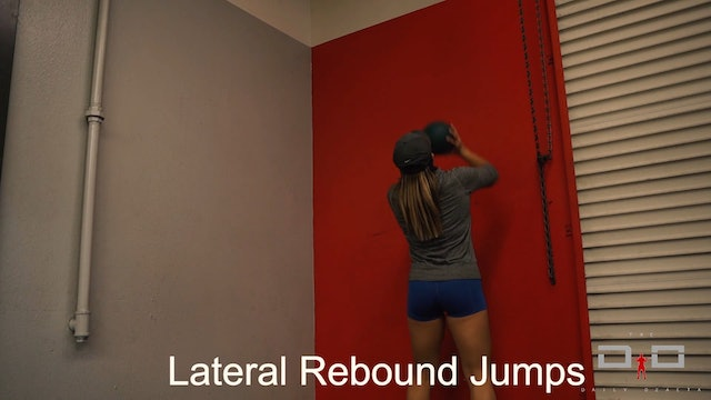 Individual Workout 27 - Lateral Rebound Jumps