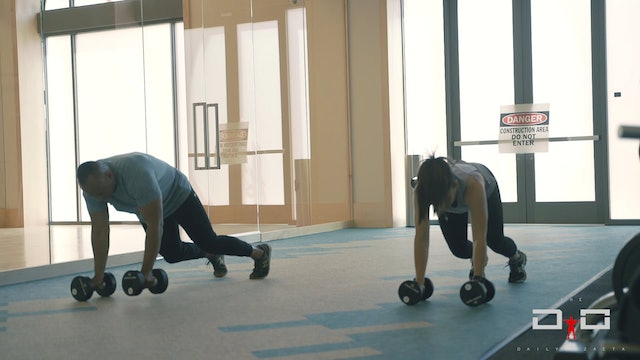 Individual Workout 99 - Dumbbell Walkout