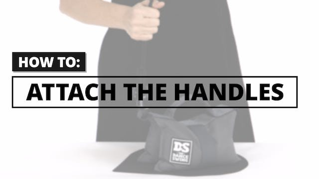 How to: Attach the Handles to the Bag