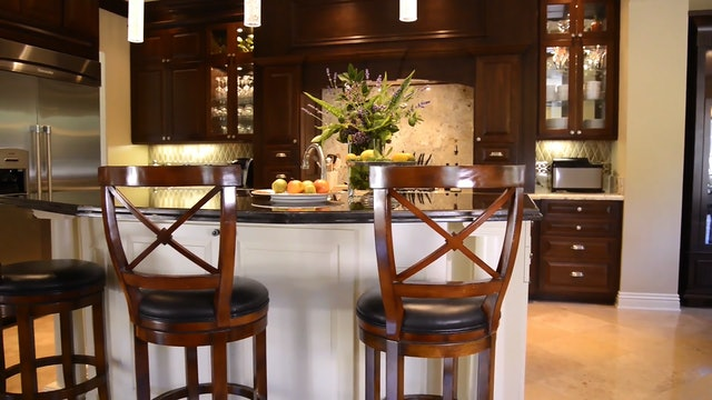 Scripps Ranch: Kitchen, Family Room & Patio