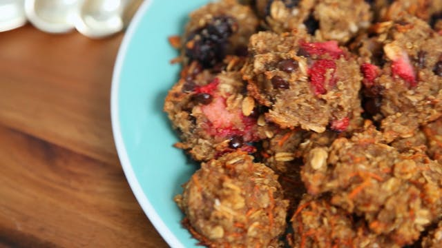 5-Ingredient Healthy Breakfast Cookies