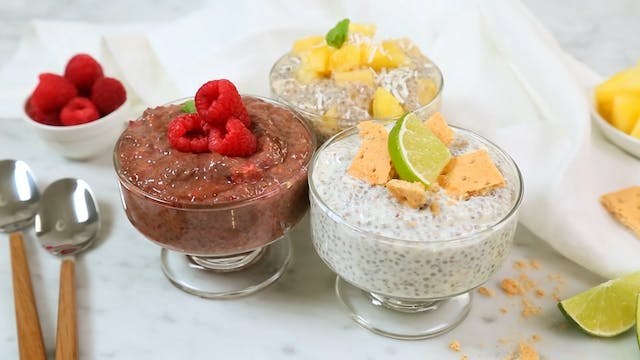 5 Healthy Chia Pudding Recipes