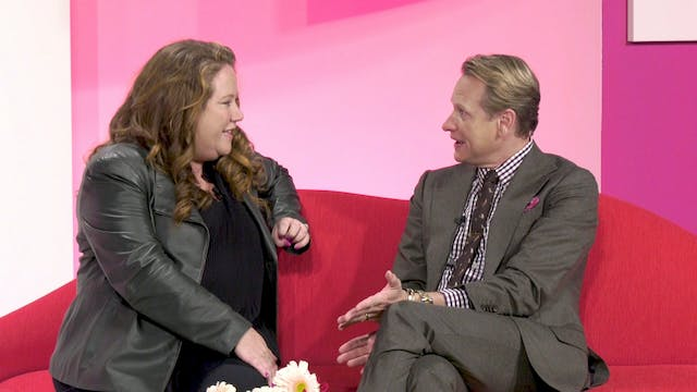 Couched: Meg Caswell & Thom Filicia