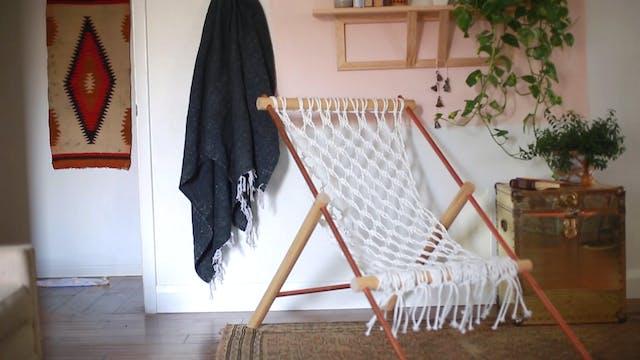 Macramé Hammock Chair