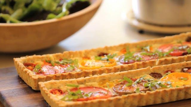 Provencal Tomato Tart