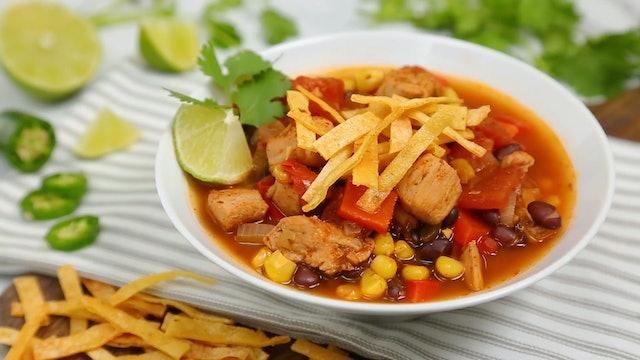 Chicken Soup 3 Ways