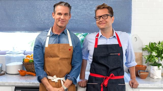 Jeffrey Alan Marks & Crab Cake Sliders