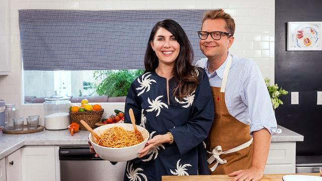 Estee Stanley & Spaghetti Bolognese