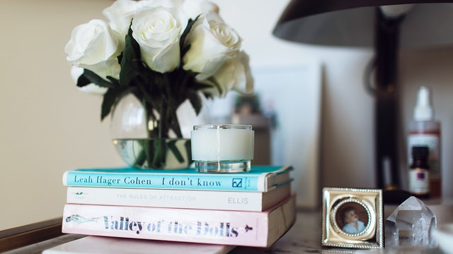 The Skinny Confidential's Breezy Bedside Table