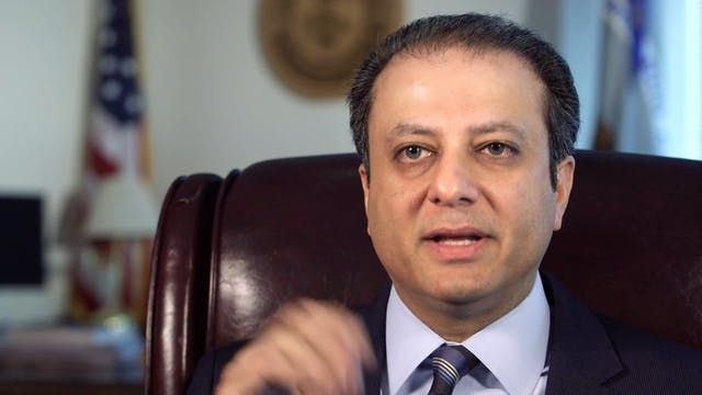 U.S. District Attorney for the Southern District of New York - Preet Bharara