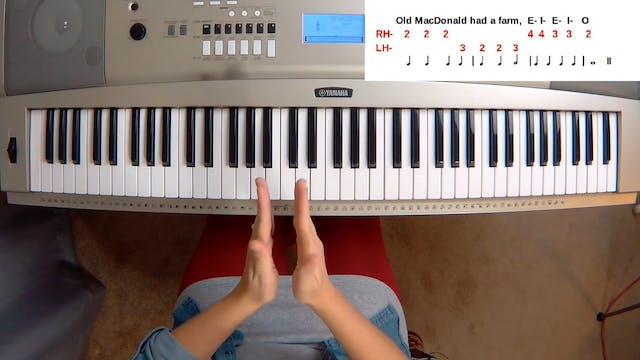 Piano Course Level 1 - Lesson 2