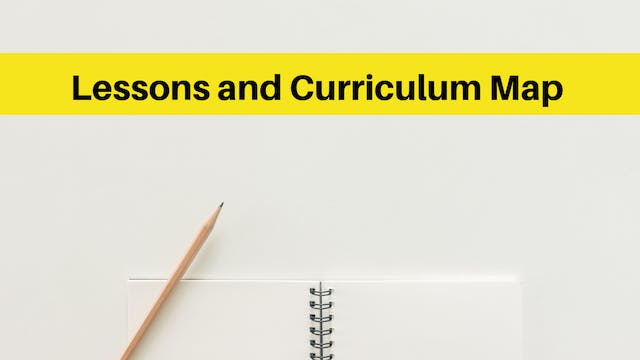 Lessons and curriculum map