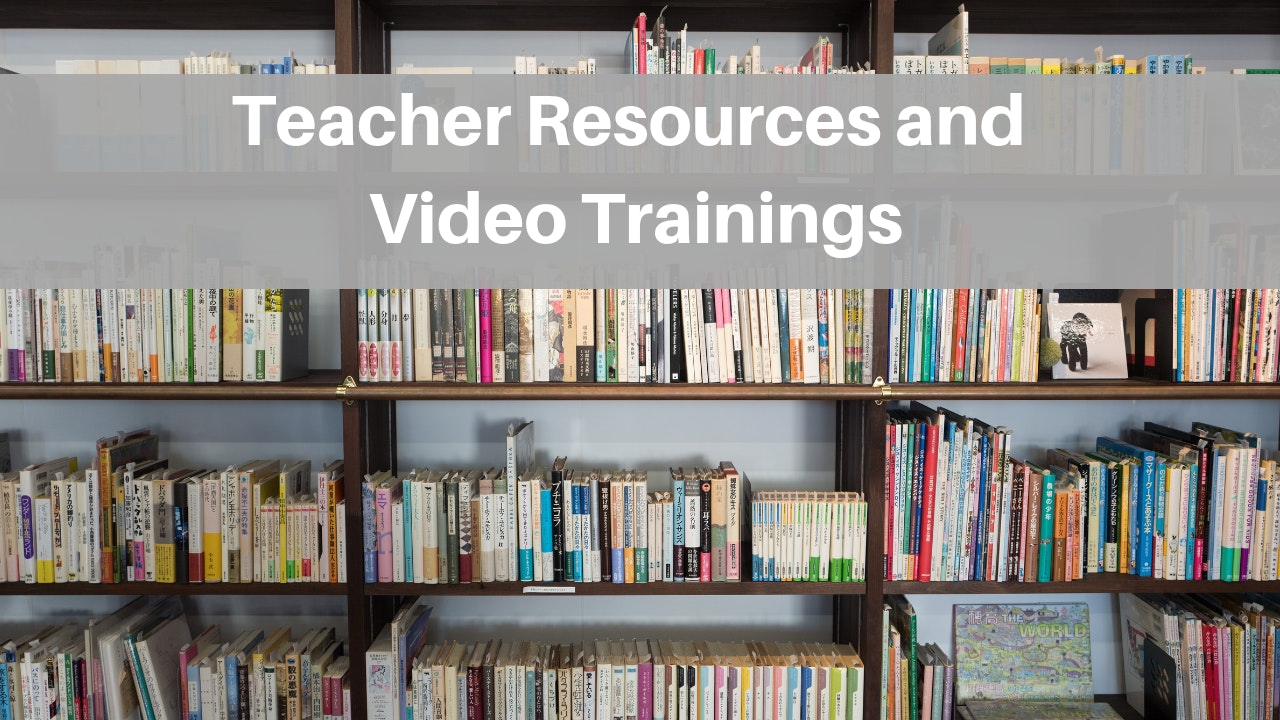 Teacher Resources and Training