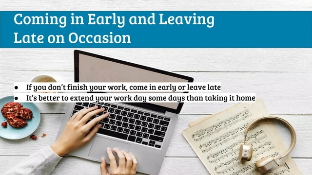 EMTB-Lesson 20-Work-home life balance