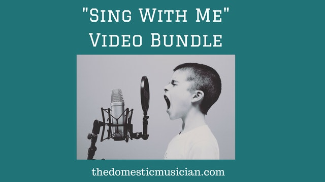 Sing With Me Video Bundle