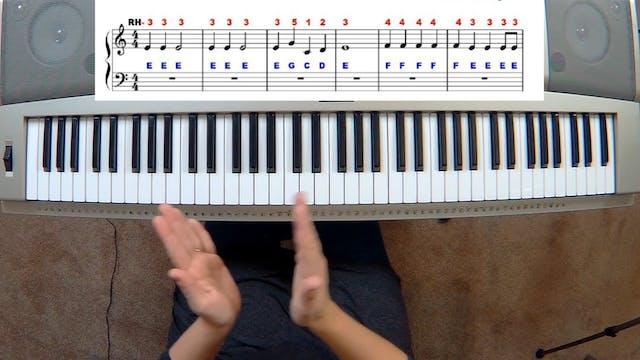 Piano Course Level 1 - Lesson 5
