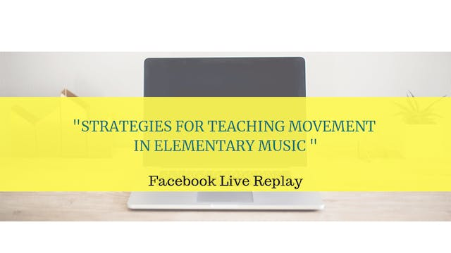 Tips for Teaching Movement in the Ele...