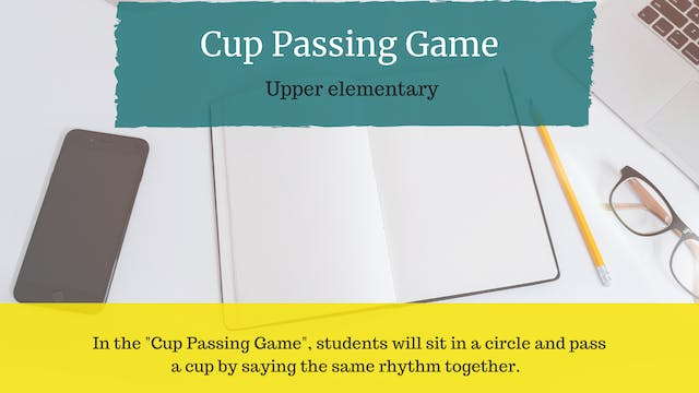 Cup Passing Game
