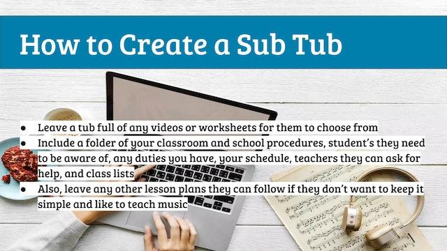 EMTB-Lesson 17-Substitute teacher lessons