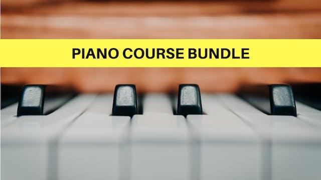 Piano Course Bundle