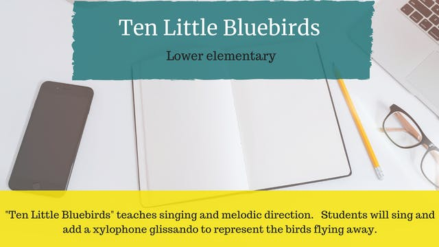 Ten Little Bluebirds
