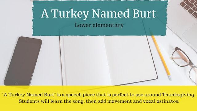 A Turkey Named Burt
