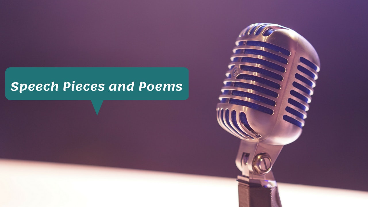 Speech Pieces and Poems
