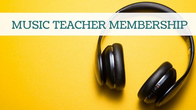The Domestic Musician Music Education Membership