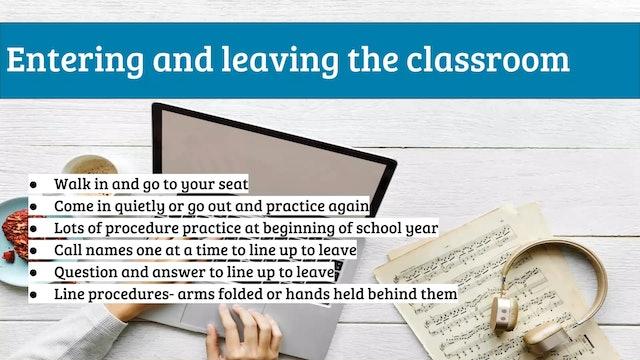 EMTB-Lesson 3-classroom procedures