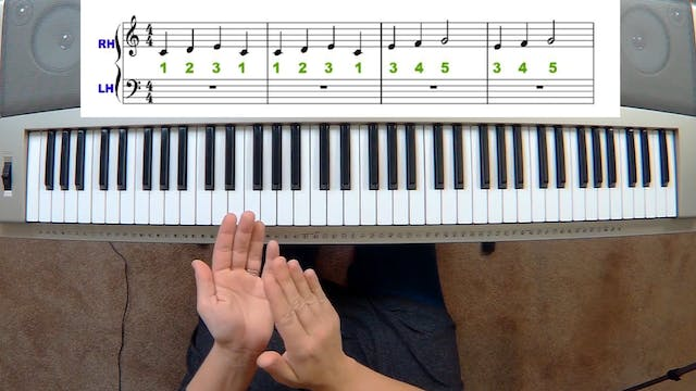 Piano Course Level 1 - Lesson 6