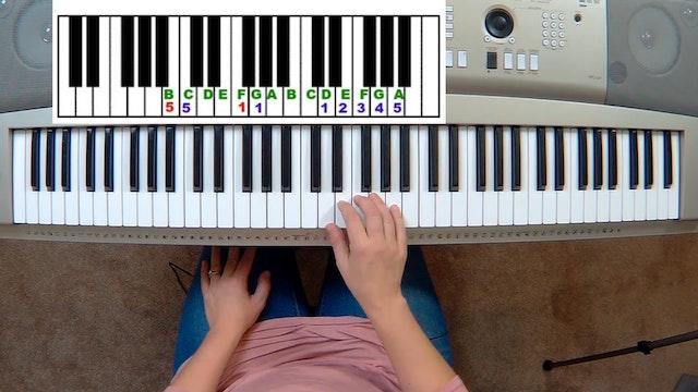 Piano Course Level 1 - Lesson 9