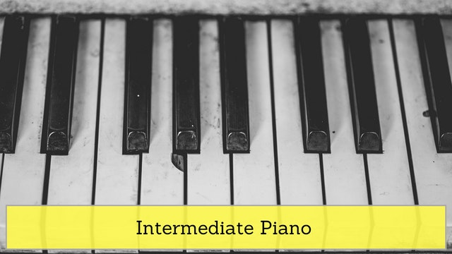 Intermediate Piano