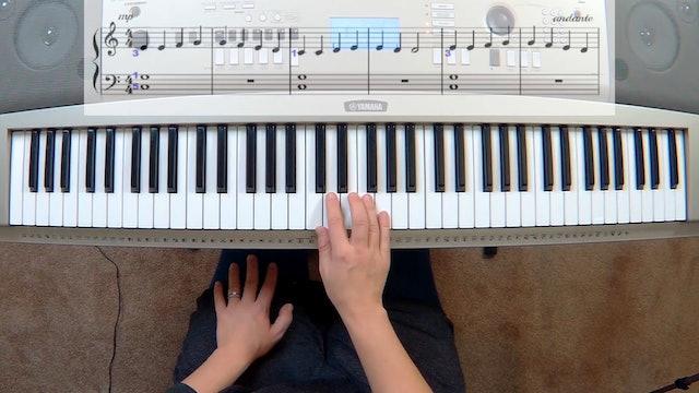 Piano Course Level 1 - Lesson 8