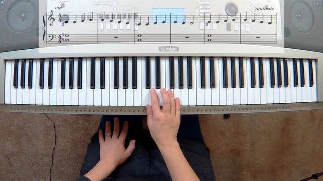 Piano Course Level 1 - Lesson 8