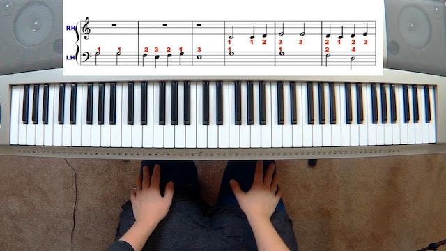 Piano Course Level 1 - Lesson 7