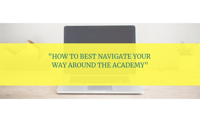 How to Best Utilize Your Membership in the Academy