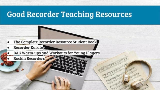 EMTB-Lesson 8-teaching recorder