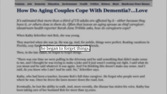 Ep. 08 - Dementia