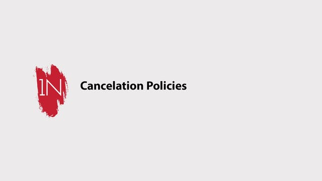 Cancelation Policies